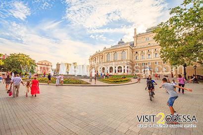 Opera House Odessa Ukaine