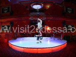 New striptease club in Odessa.