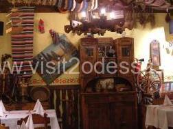 Restaurant in Odessa, ethnic Ukrainian cuisine.
