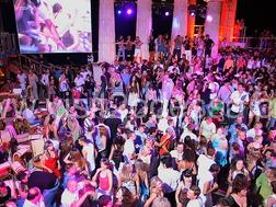 Night club of Itaka in Odessa, Ukraine contains to 5 thousand people, on a beach in Arcadia.