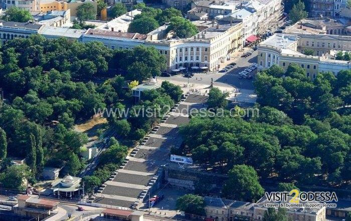 Sightseeing tour around the city Odessa, in Ukraine.