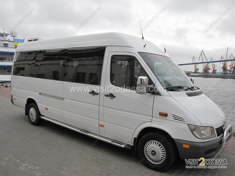 Transfers from airport and service of excursion groups in Odessa