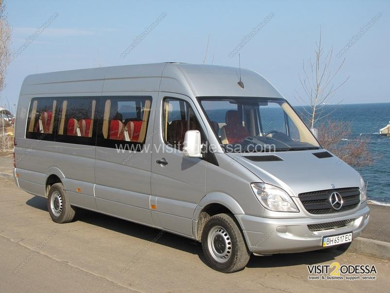 Bus excursion around Odessa and Ukraine