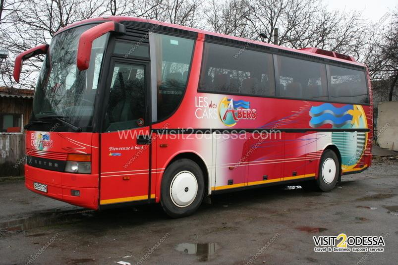 Bus Service for excursion groups of tourists, across Odessa and Ukraine.