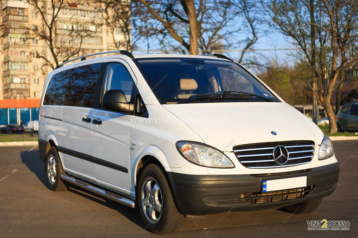 Transfers with English speaking driver, across Odessa and all Ukraine,for group of tourists