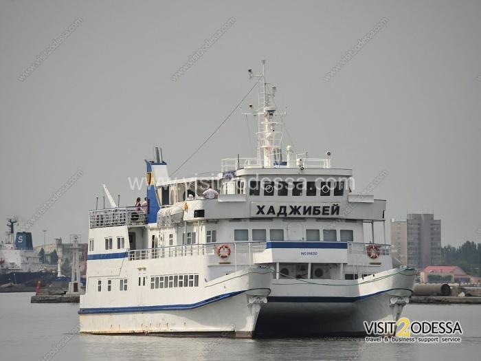 Odessa sea walk on catamaran