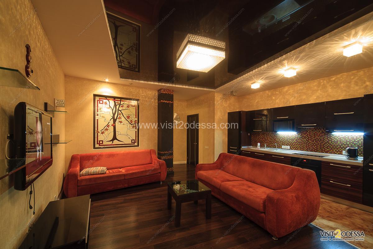 vip level odessa ukraine apartment for daily rent
