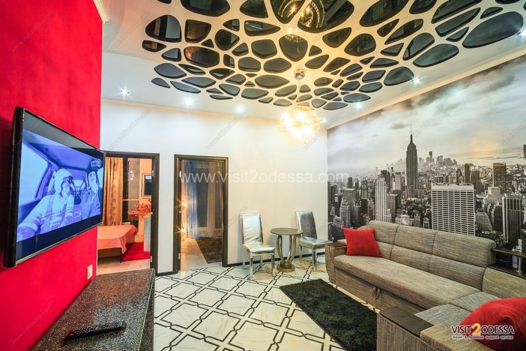 Stylish apartment near Arcadia Odessa with 2 bedroom