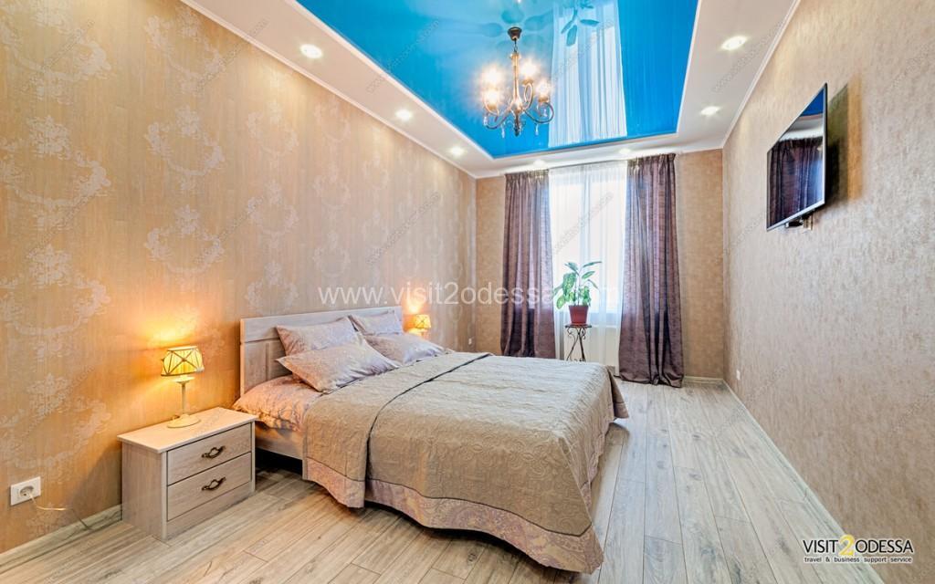 Daily rent 1 bedroom apartment on Genuezskaya street
