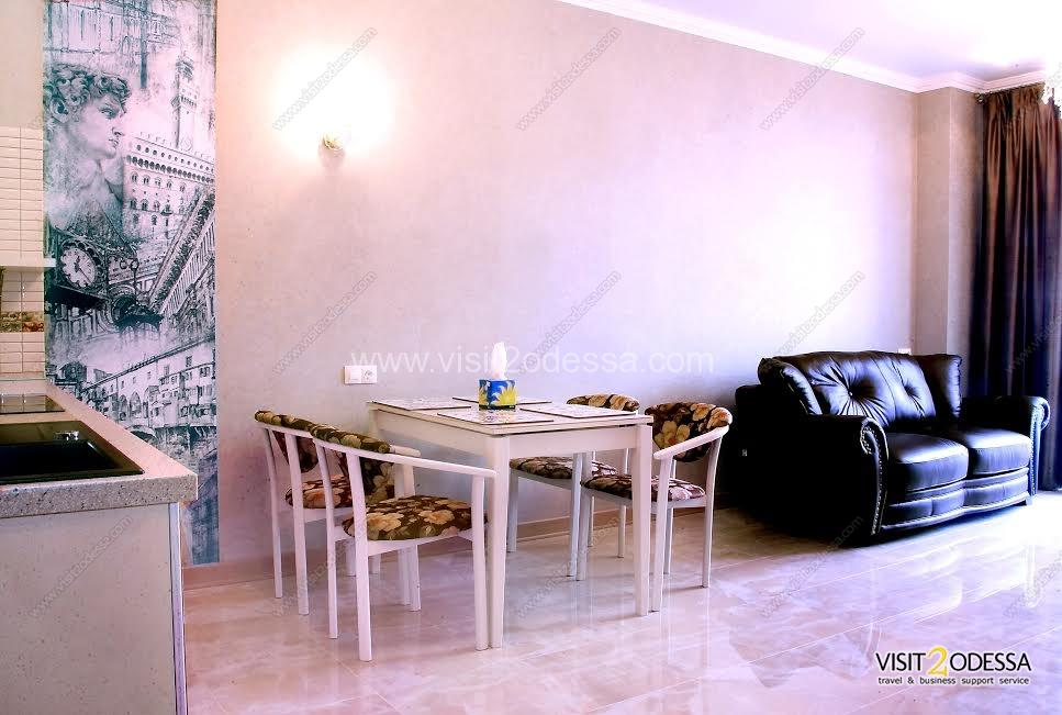 Rent 1 bedroom Odessa apartment on Grecheskaya street 1.