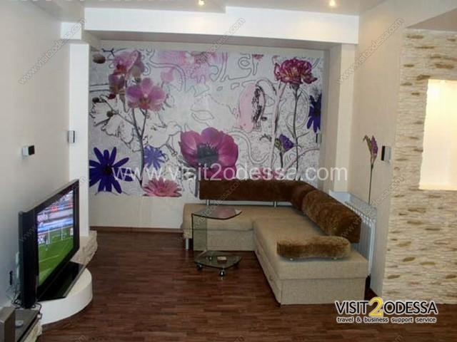 The two-room apartment in Odessa Ukraine.