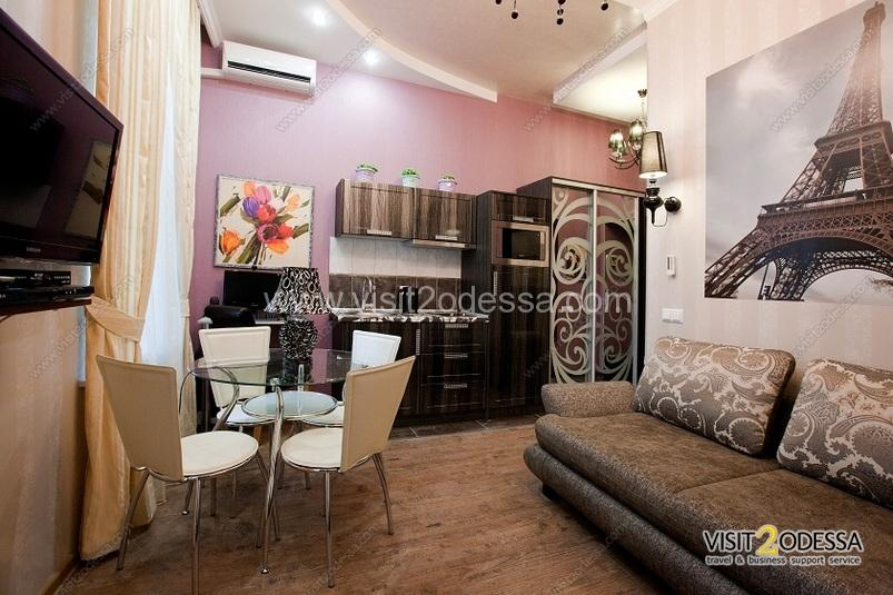 The Lux of 2 room apartment, in the Odessa gardens.
