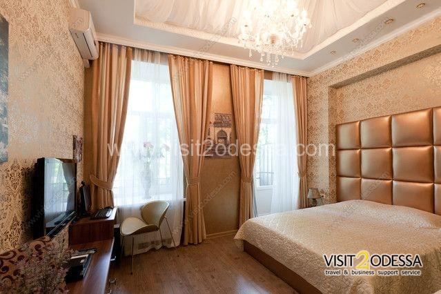Elegant 2 room apartment, bedroom.