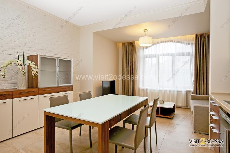 Rent new 1 bedroom apartment Odessa city center.