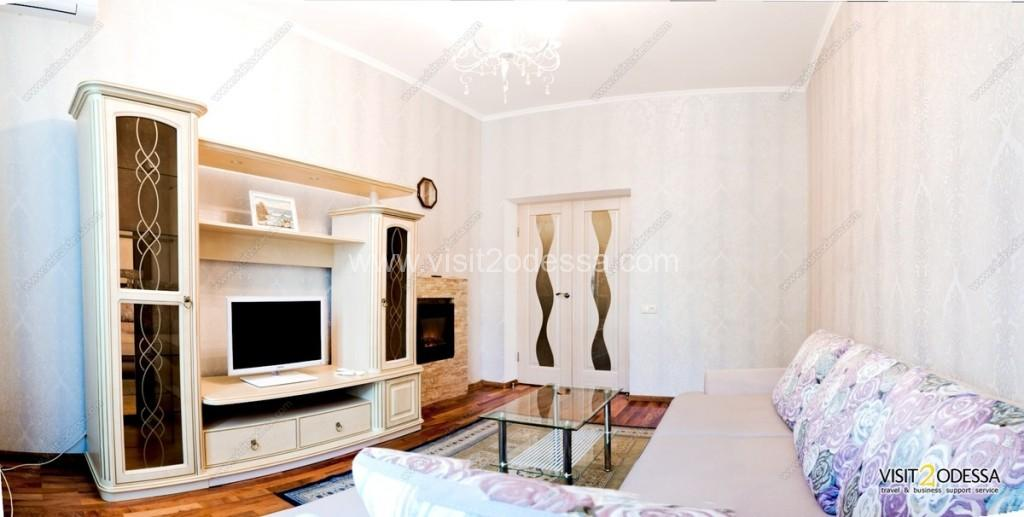 Downtown Odessa Ukraine, 1 bedroom apartment