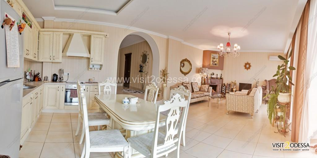 Villa in Odessa, there is everything, for comfortable stay.