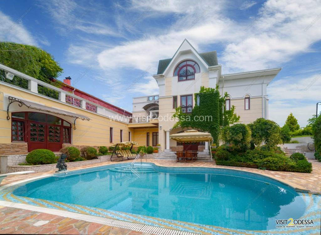 Vip Villa House in Arcadia Odessa, near Ibiza club