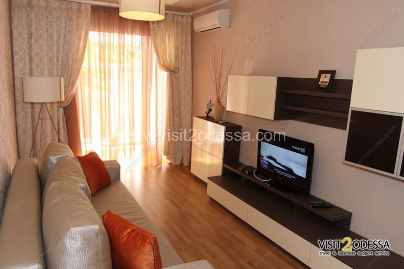 The new apartment on Deribasovskaya.