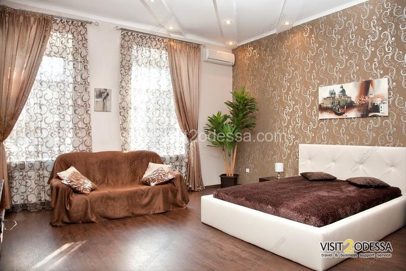 Odessa stylish 2 bedroom apartment, new furniture.