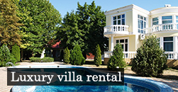 Rent luxury villas in Odessa for the holidays. Odessa Ukraine luxury villas for rent.