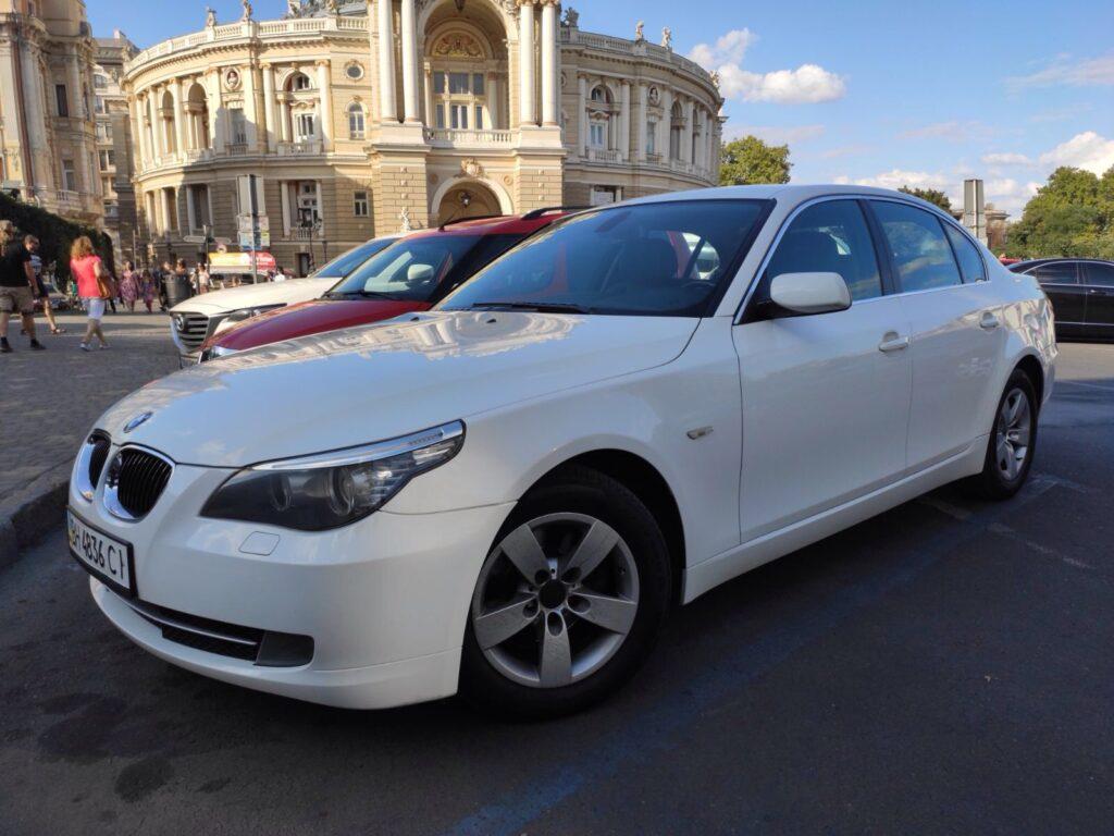 Rent Luxury Car Odessa Ukraine - BMW 525